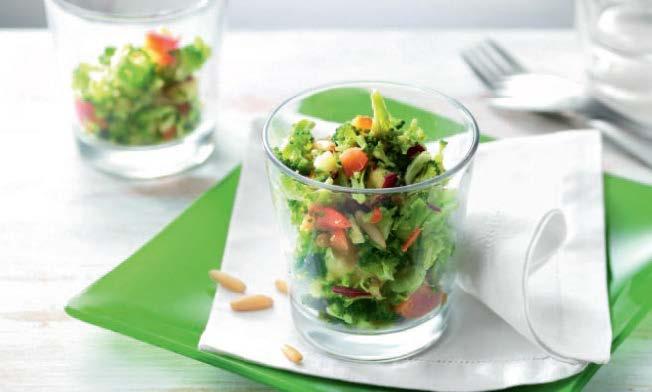 Salade de crudités réalisée en 5 secondes!