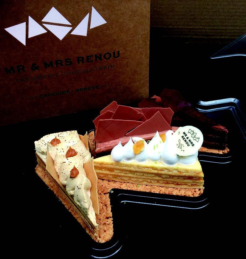 «Sa part du gâteau»