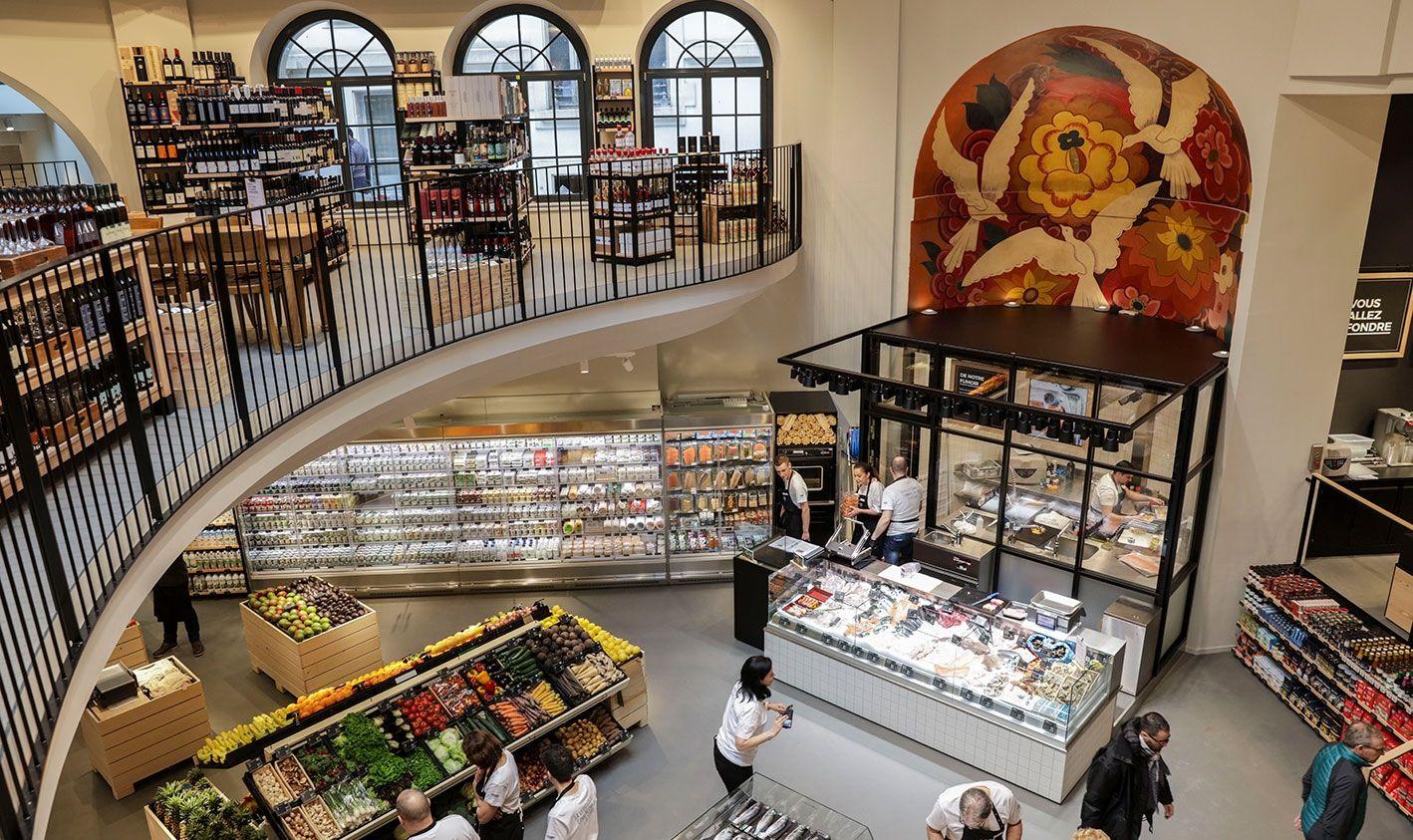 Saveurs et plaisirs de la bouche: le nouveau format de magasin de Coop