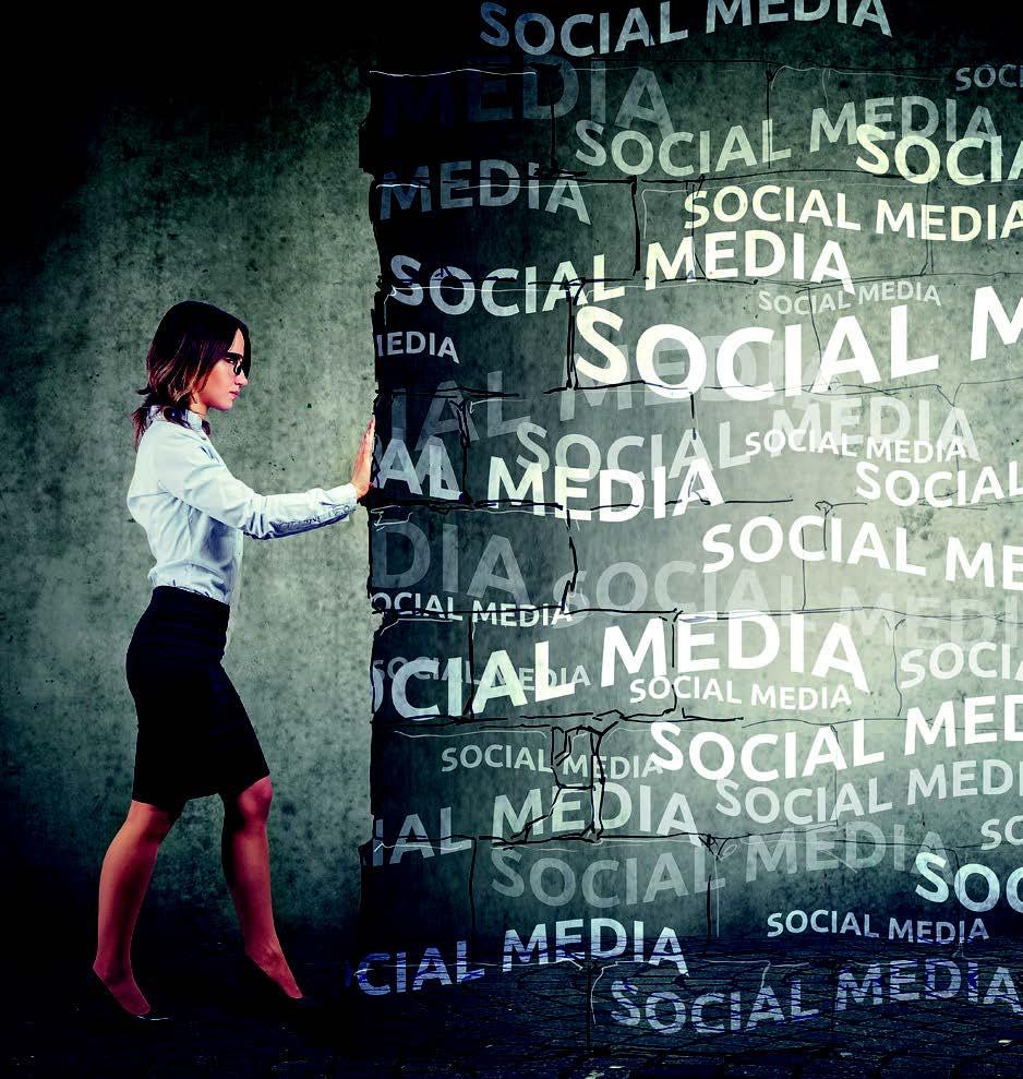 Coupée des réseaux sociaux, et alors?