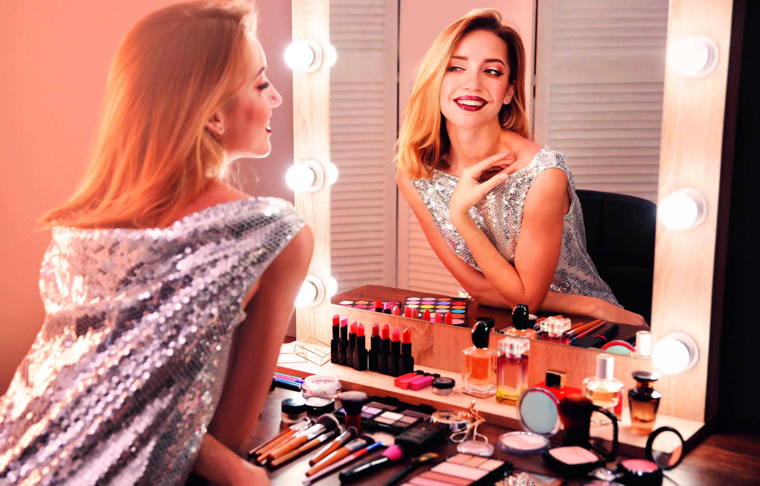 Que cache l'amour des cosmétiques?